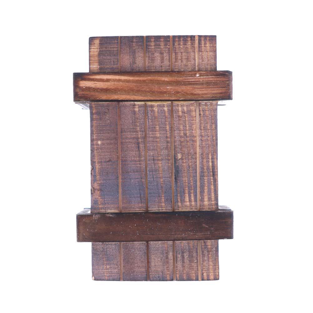 1Pcs 10cm Climbing Car Wooden Box Model for RC Rock Crawler Accessories Axial SCX10 Tamiya TRX-4