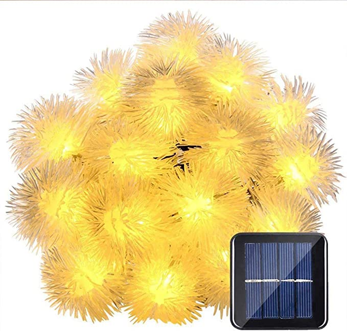 DEN&GL Halloween String Lights Energía Solar LED Impermeable ...
