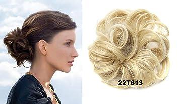 Amazon Com Hi Girl Q5 22t613 Scrunchy Scrunchie Hair Bun Updo