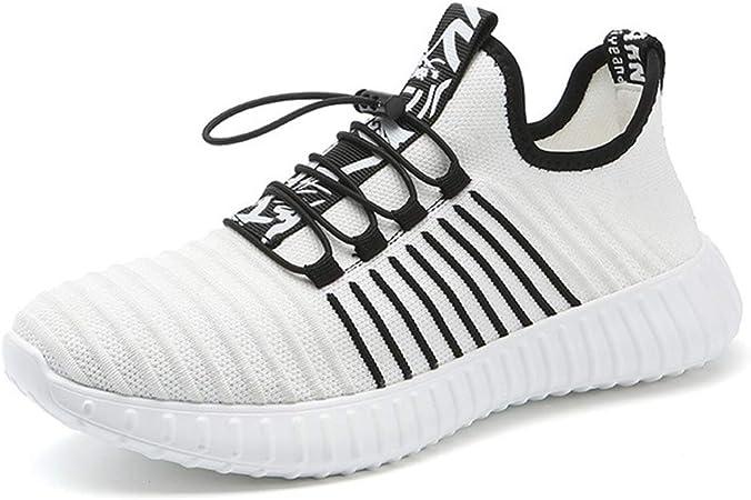 Zapatos para Correr Zapatos para Hombre Formadores De Peso Ligero Al Aire Libre Deportes Atléticos Zapatillas De Deporte De La Gimnasia De Caminar Jogging,Blanco,US9/UK8.5/EU43: Amazon.es: Hogar