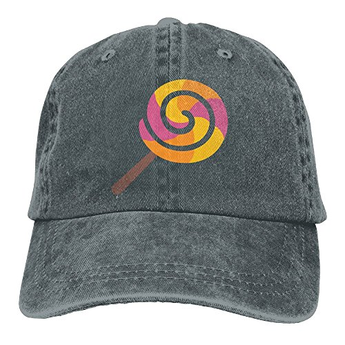 (Adult Cowboy Cap Hat Lollipop Adjustable Cotton Denim Sunscreen Fishing Outdoors Retro Visor)