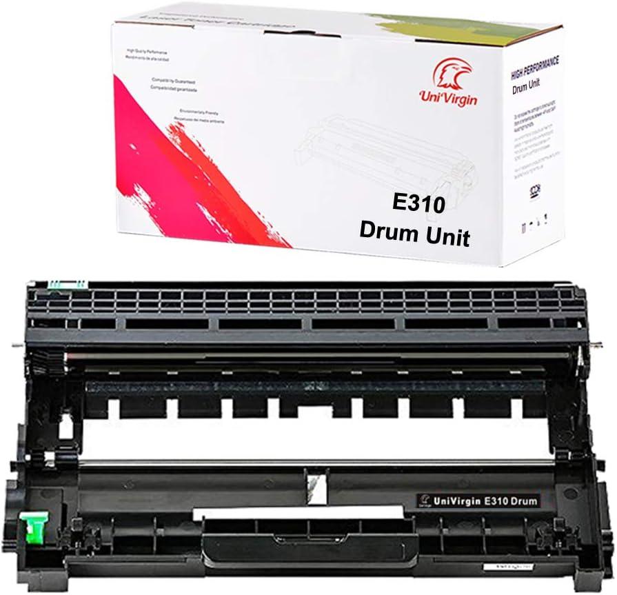 Univirgin Compatible E310dw Drum Unit Replacement for E310 E514 E515 for use in Dell E310dw E514dw E515dw E515dn (Black,1-Pack)