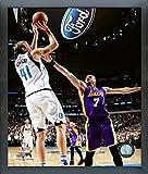 Dirk Nowitzki Dallas Mavericks 30,000th NBA Point Action Photo (Size: 12'' x 15'') Framed