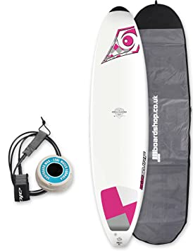 BIC DURA-TEC Mini Malibu Wahine tabla de surf paquete 7 pies 3, color