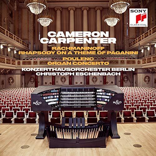 Rhapsody on a Theme of Paganini / Organ Concerto (Poulenc Organ Concerto)