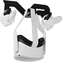 (1 Set) Orzero VR Wall Mount Stand Compatible for Oculus Quest 2, Oculus Quest, Oculus Rift, Oculus Rift S, Valve Index…
