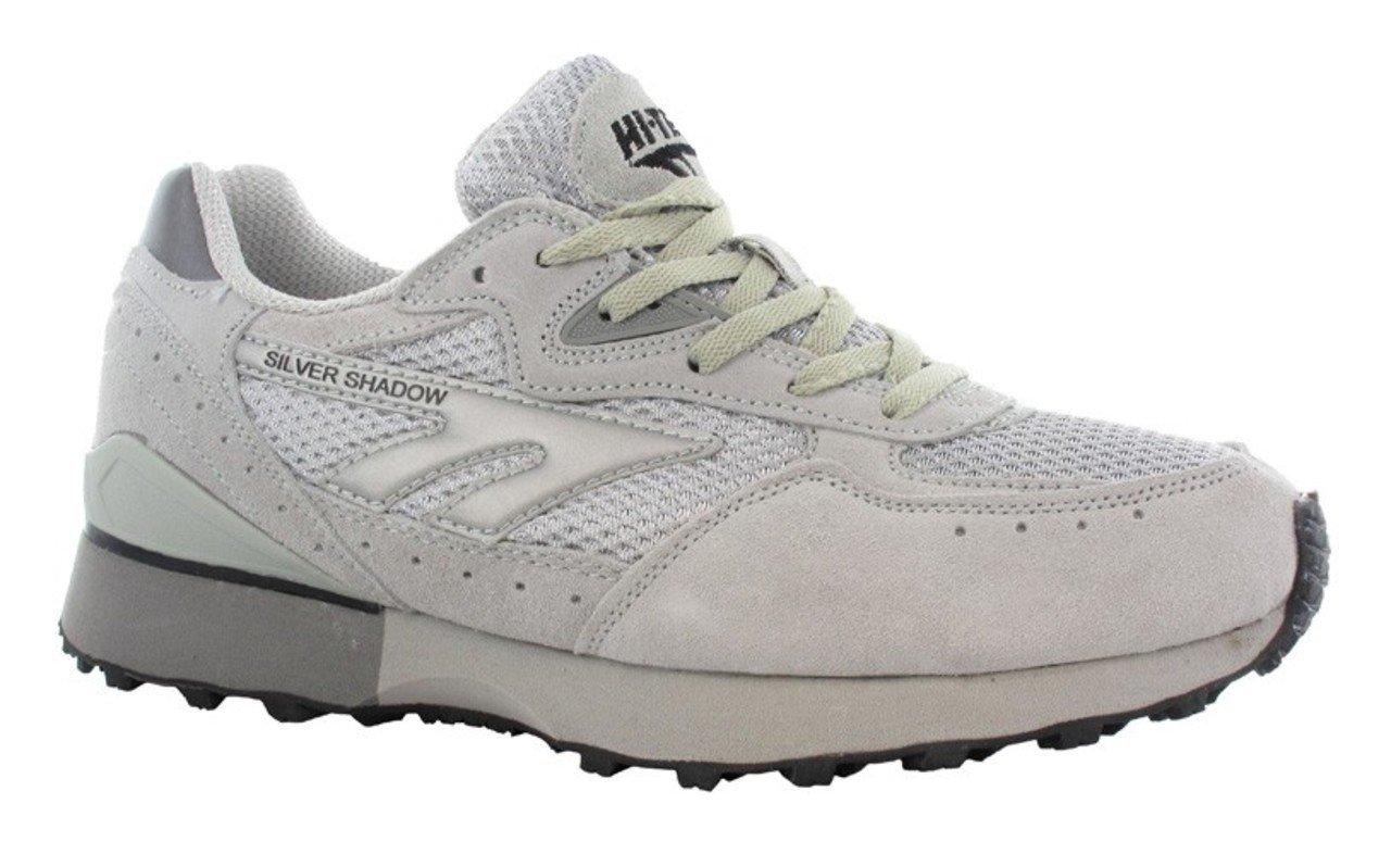 Hi-Tec – Silver Shadow Unisex de botas Athletics Running Trainer Suela de Goma Guantes, plata - plata 9