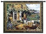 Vineyard Villa Tapestry Size: 40'' H x 53'' W