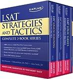 Kaplan LSAT Strategies and Tactics Complete 3-Book Series, Kaplan, 160714977X
