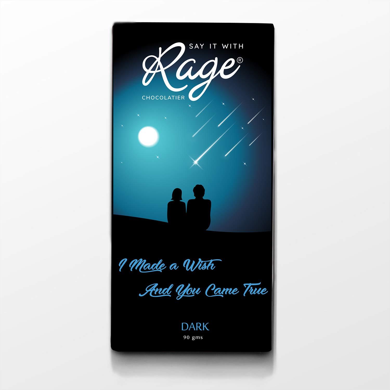 Rage Chocolatier I Made a Wish and You Came True, 90 gm