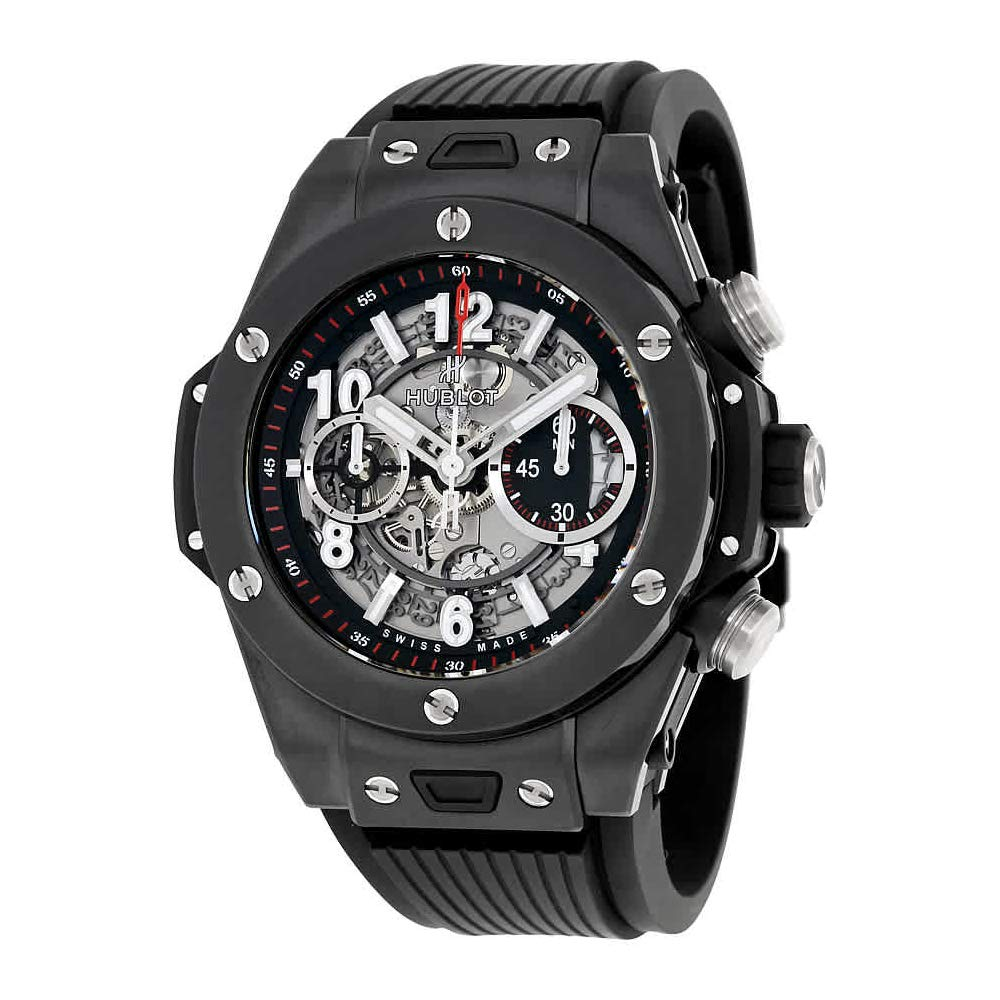 Hublot Big Bang, Luxury Sports Watches, Black Watch, Swiss Watch, Modern Watch, Watch Functions