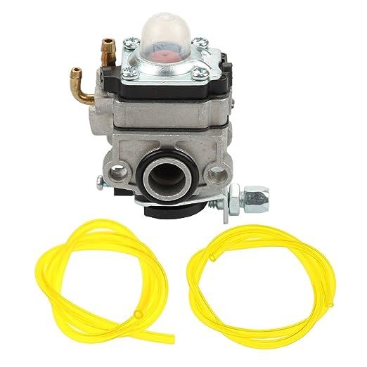 HIPA carburador con manguera de gasolina para Honda 4 ciclo motor ...