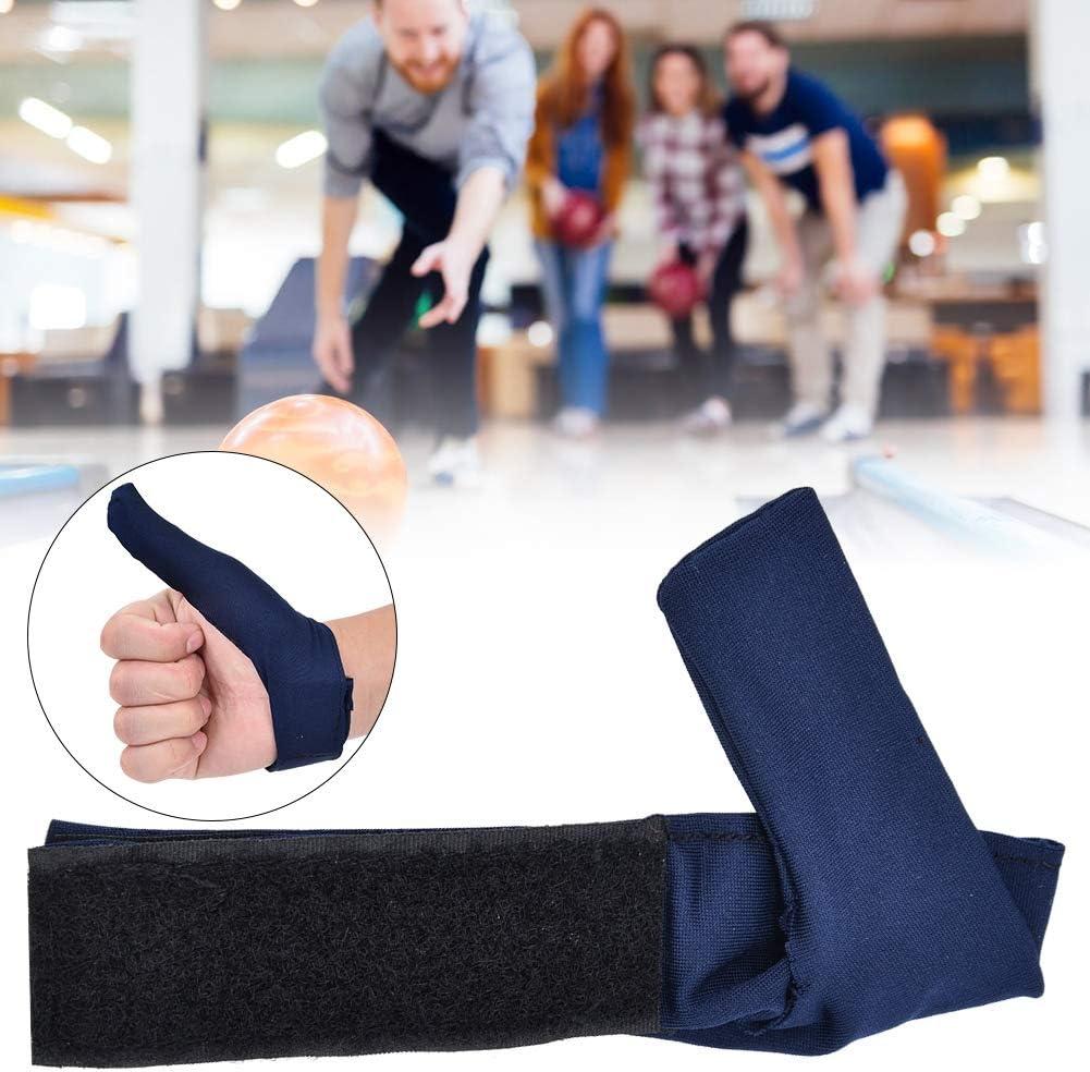 Alomejor Bowling Handschuhe Bowling Ball Sport Finger Grip Gear Schutzhandschuh Passt Rechts Links Hand Finger