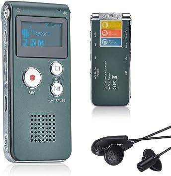 Mini Digital up 32GB Digitales Diktiergerät Voice Recorder USB Aufnahmegerät DE.