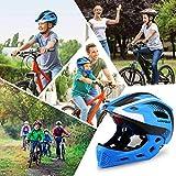 Lixada Kids Bike Helmet Adjustable Detachable