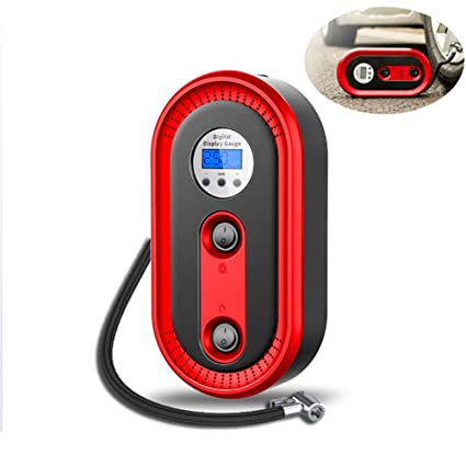 Amazon.com: SDJIEM Car Air Pump Digital Display 12V 120W ...