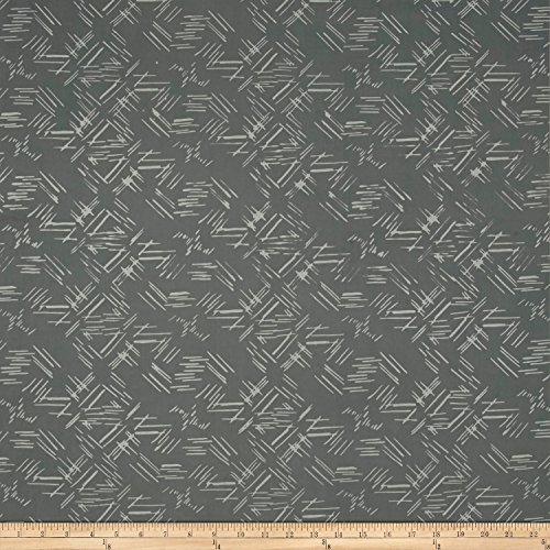Hoffman Hand Painted Batik - Indah Hand Dyed Batiks Painted Tossed Lines Smoke Fabric By The Yard