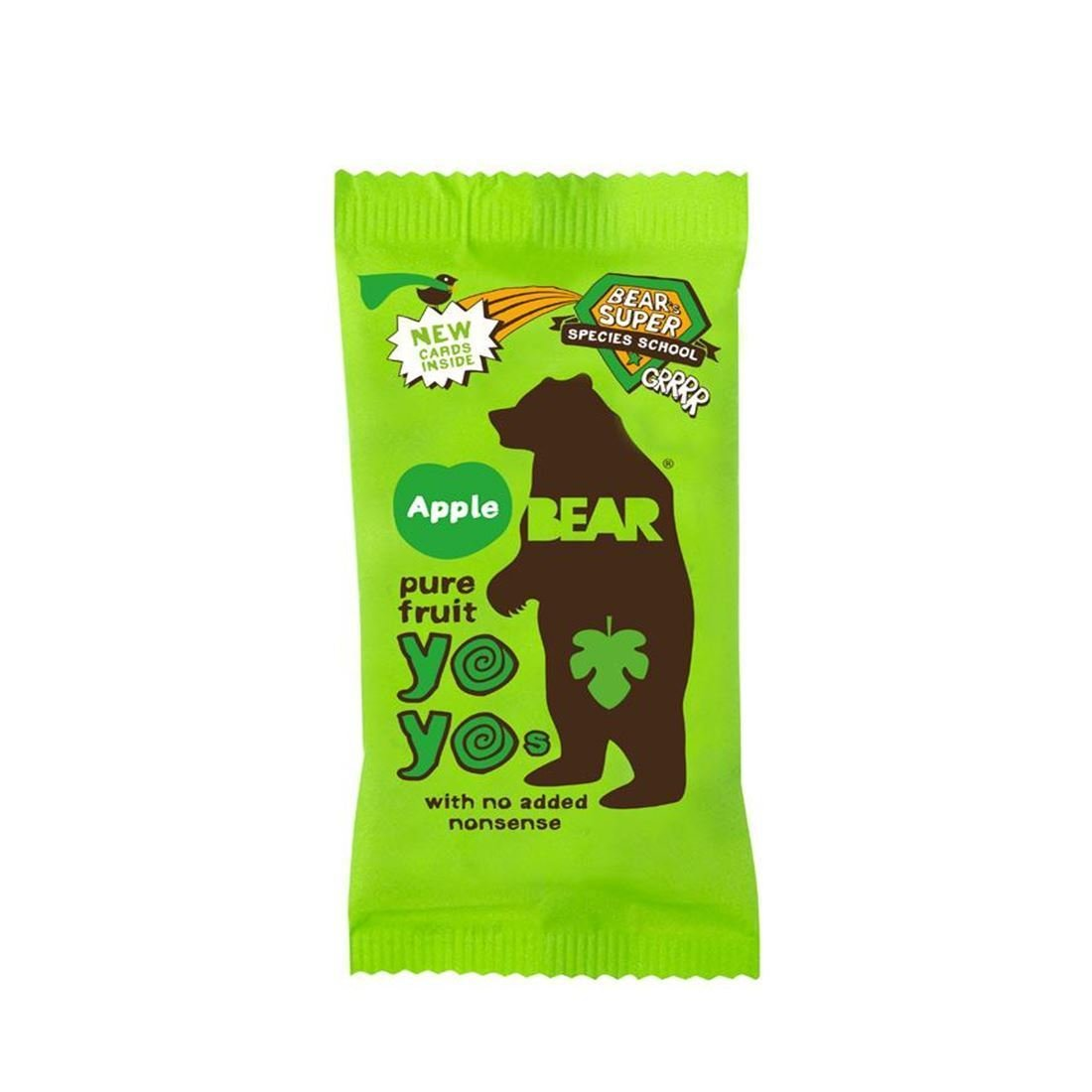 Bear | Yoyo Pure Fruit Rolls - Apple | 6 x 20g (UK)