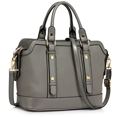 ffd6e36d69 LEESUN LONDON Womens Handbags Large Designer Tote Bags Faux Leather Ladies  Bags Sale Shoulder Bag (