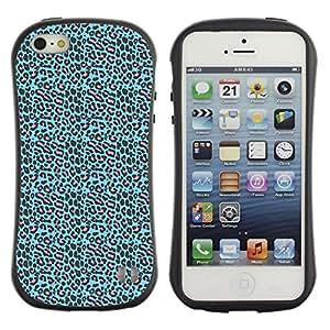 DesignCase Premium TPU / ABS Hybrid Back Case Cover Apple iPhone 5 / 5S ( amazing pattern )