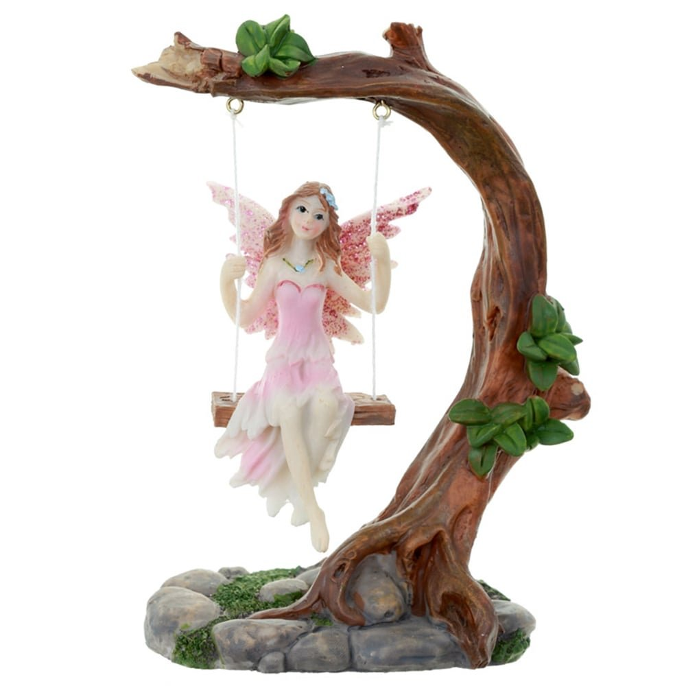 Collectable Flower Fairy Figurine - Swing Puckator