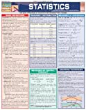 Statistics Laminate Reference Chart: Parameters, Variables, Intervals, Proportions (Quickstudy: Academic)