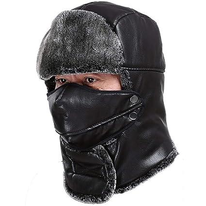 Sombrero de esquí de soldado de invierno Unisex Winter Trooper Hat, sombrero de caza para