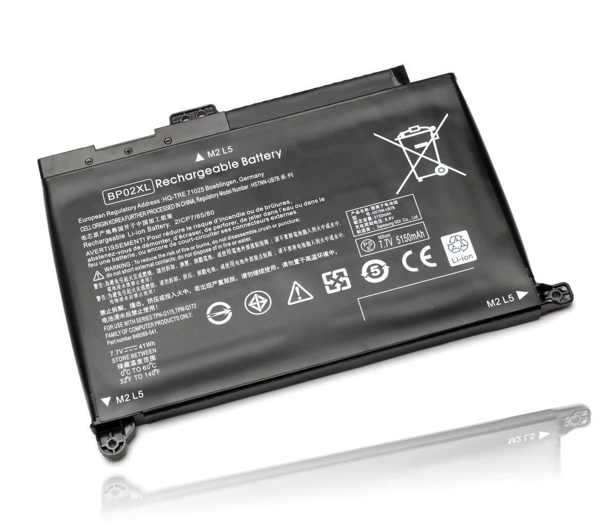 Bateria 15-au000 15-aw000 Bp02xl Hp Pavilion Pc 15 15-au018w