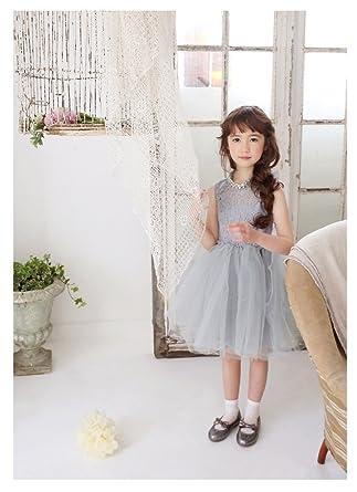 0dd372fd3e76f  ノーブランド品  女の子 キッズ ふわふわ ドレス ワンピース リボン チュール ドレス 子供服 プリンセス