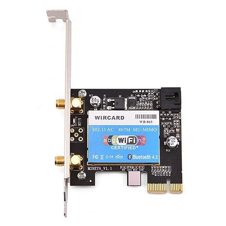 fosa tarjeta Bluetooth WiFi, tarjeta Wi-Fi Doble Banda 867 Mbps ...