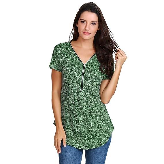 Amazon.com: 4 de julio!! Camisas de mujer casual blusa de ...