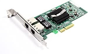 Dell Pro Ethernet 1Gbps 2-Ports PCI-E Network Card X3959