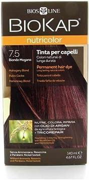 Biokap Tinte Mahogany Blond Dye Rubio Caoba 7.5 140 ml ...