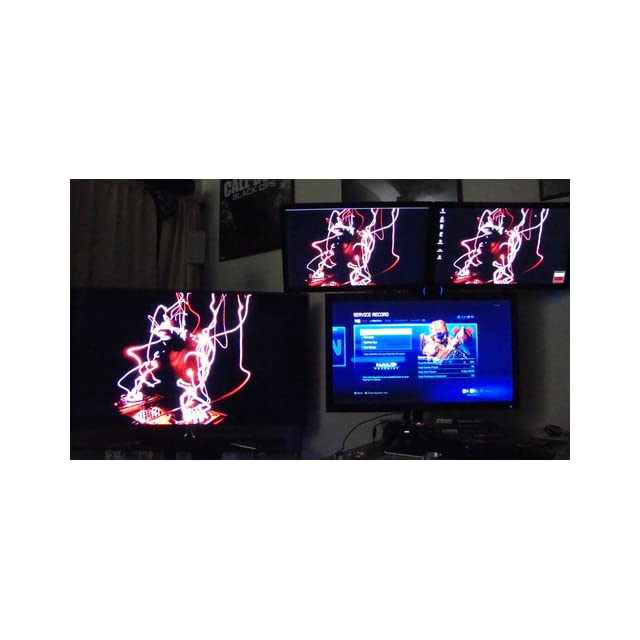 VIVO Triple LCD Monitor Desk Mount Stand Heavy Duty & Fully Adjustable 3 Screens up to 27 (STAND V003T)