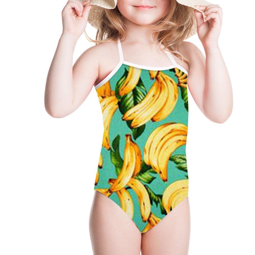 doginthehole Pineapple Swimwear Girl Bathing Suit One Piece Summer Beachwear 3-8