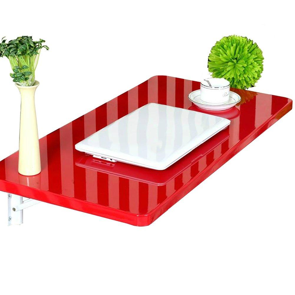 LXLA折りたたみダイニングテーブル壁掛けコンピュータデスク児童学習ワークステーションマルチユースオーガナイザ、キッチン、リビングルーム、レッド (サイズ さいず : 90×40cm) B07DYMZDT2 90×40cm 90×40cm