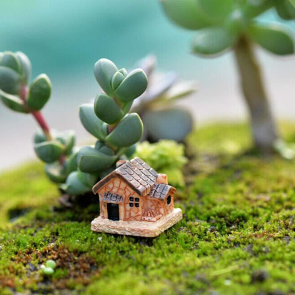 Treasure-house 4/pcs Mini H/érisson Jardin F/é/érique mod/èles miniatures D/écor Terrarium Figurines Figurine DIY Micro Paysage de voiture Ornement