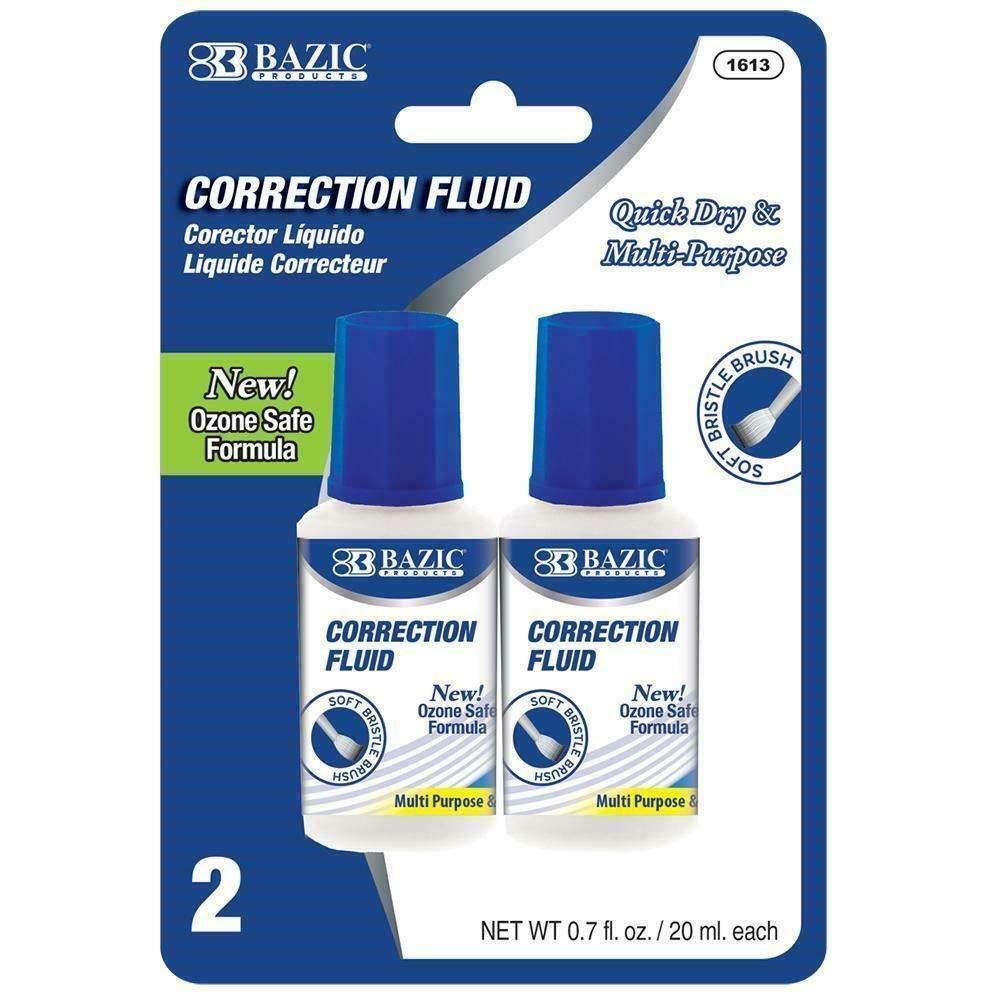 20ml / 0.7 Fl. Oz. Correction Fluid (2/Pack)