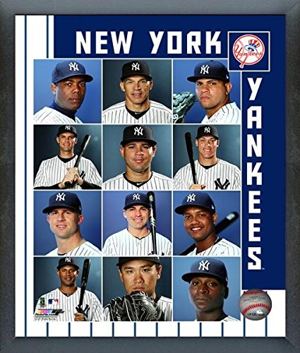 New York Yankees 2017 Team Composite Photo (Size: 17