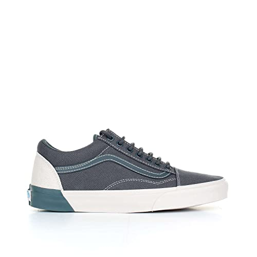 de1012241e5c10 Vans Unisex Old Skool Dx (Blocked) Dark Slate and Wind Chime Sneakers - 9