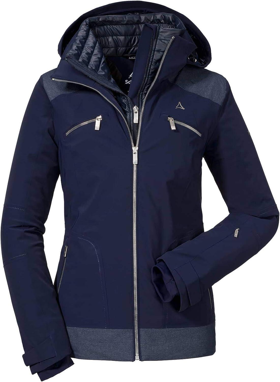 Schöffel Ski Jacket Marseille2 Damen Skijacke blau