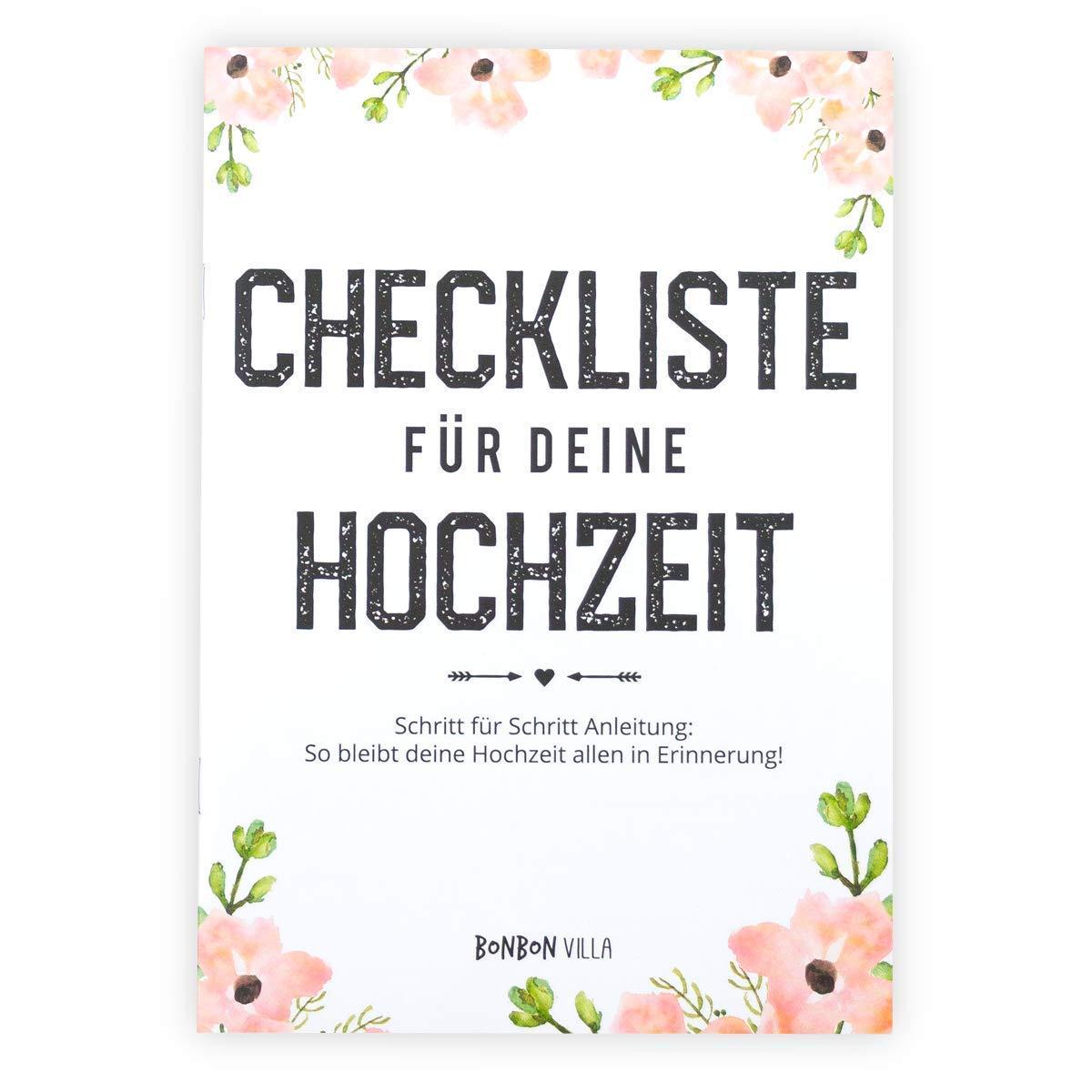 Checkliste für deine Hochzeit, Hochzeitsplanung, Hochzeitsplaner ...