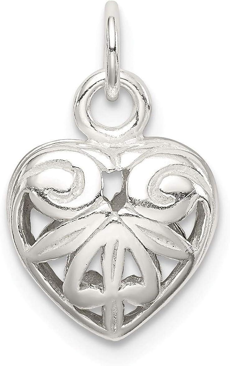 Bonyak Jewelry Sterling Silver Heart Charm