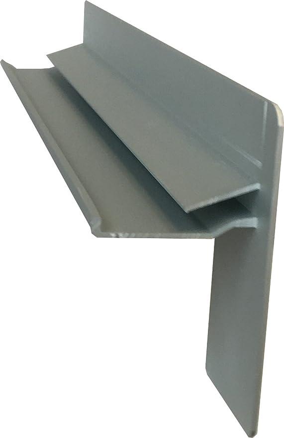 Fensterbrett 110 mm Tief Ohne Seitenteile Anthrazit 2000 mm Lang Fensterbank