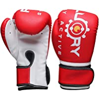 FLUORY Boxing Gloves, UFC MMA Muay Thai Sparring Kickboxing Training Gloves for Men & Women & Kids