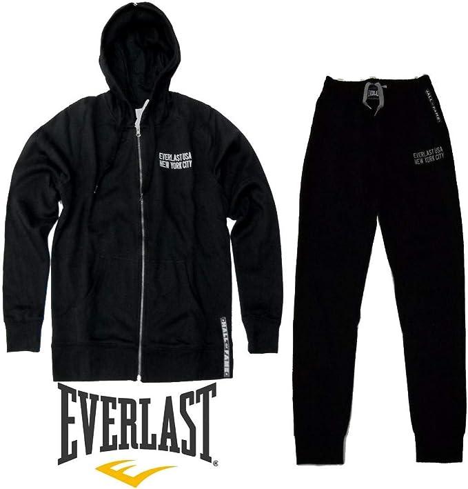Everlast - Chándal - para Hombre Negro L: Amazon.es: Ropa y accesorios