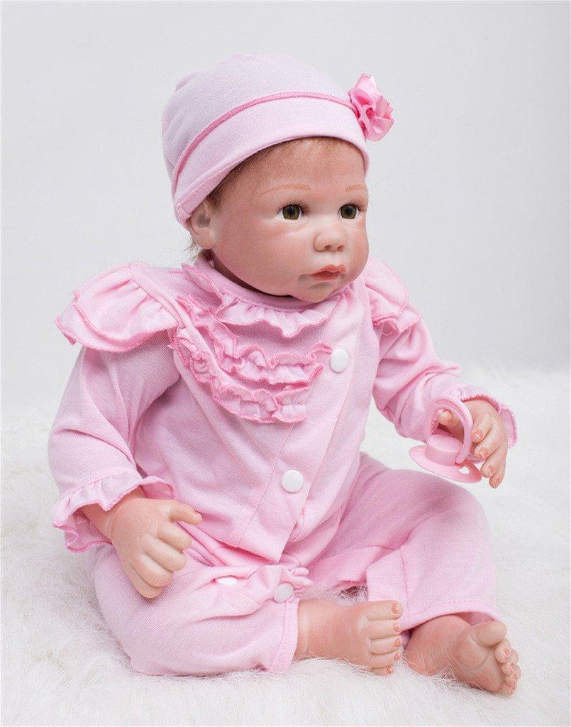 Terabithia La niña del papá Vida Real Newborn Weighted Baby Dolls
