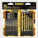 DEWALT DW1354 14-Piece Titanium Drill Bit Set