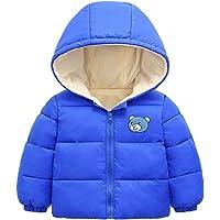 Bebé Chaqueta Outfits Invierno Niños Niñas Abrigo con Capucha Manga Larga Calentar Ropa Regalos 1-6 años