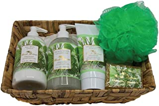 product image for Camille Beckman Essentials Gift Basket, Vitamin E Unscented, Glycerine Hand Therapy 6 oz, Silky Body Cream 13 oz, Hand and Shower Cleansing Gel 13 oz, Glycerine Soap 3.5 oz